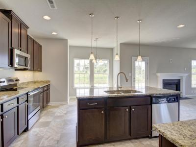 Kitchen featured in The Byron By Napolitano Homes in Norfolk-Newport News, VA
