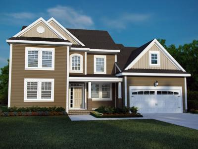 Exterior featured in The Milan By Napolitano Homes in Norfolk-Newport News, VA