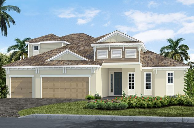 This home will offer a side load, 3 car garage