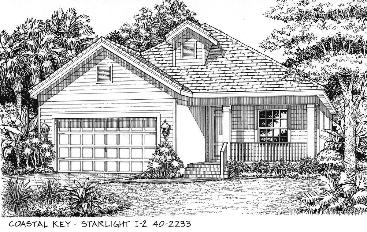 Starlight Home Plan By Neal Communities In Coastal Key