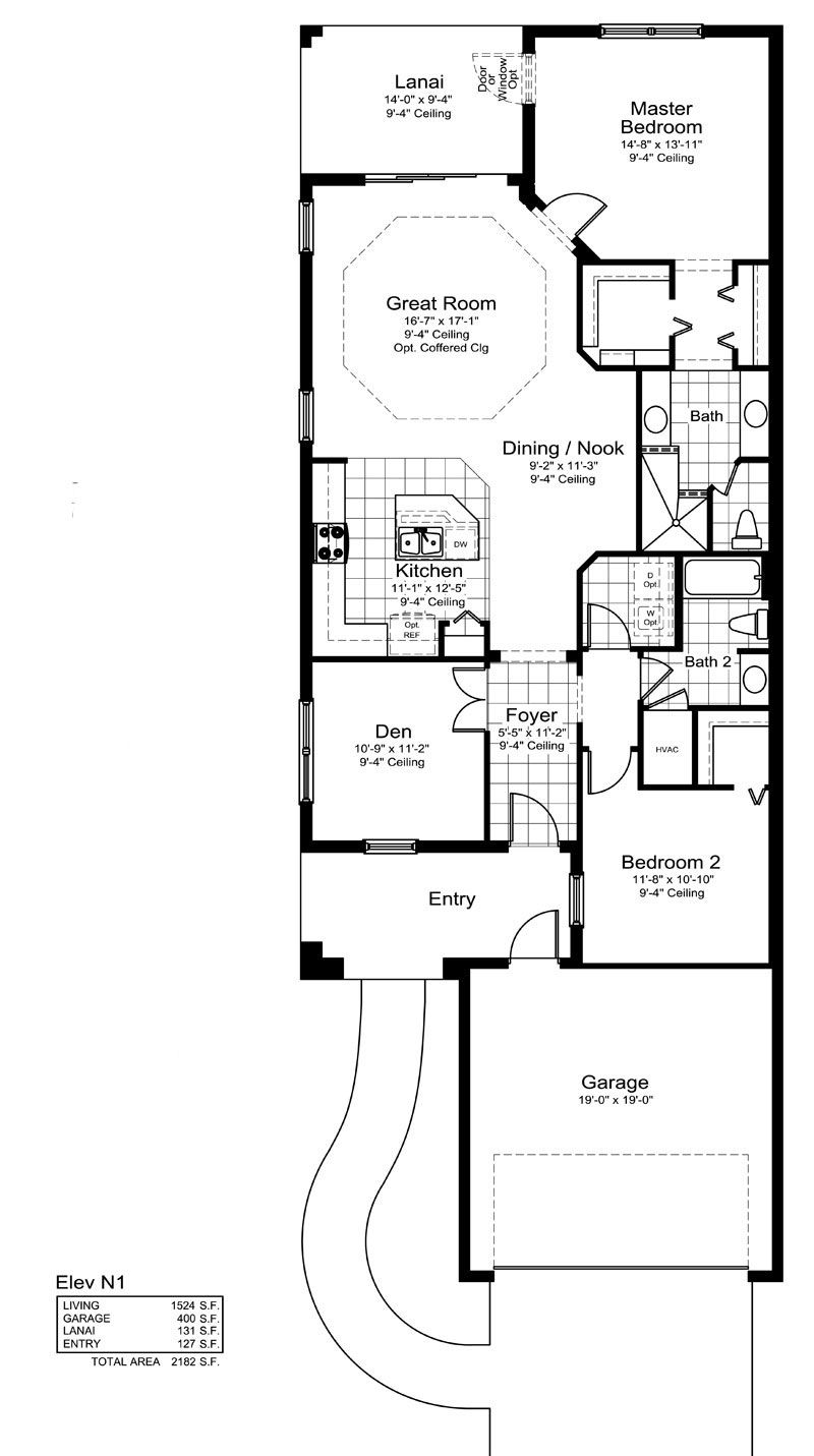 Tidewater B Home Plan By Neal Communities In Eagle Trace
