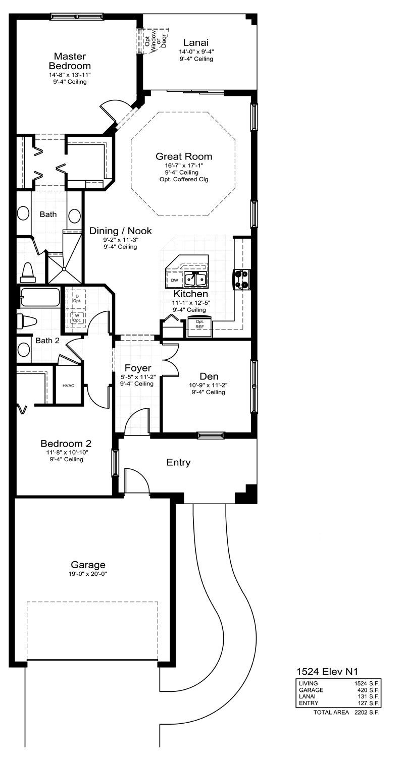 Tidewater Home Plan By Neal Communities In Grand Palm