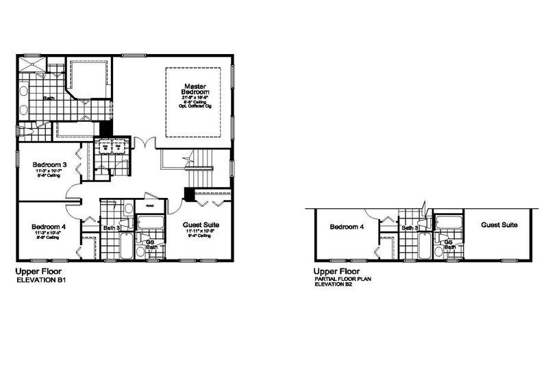 Encore Floorplan 2nd Floor