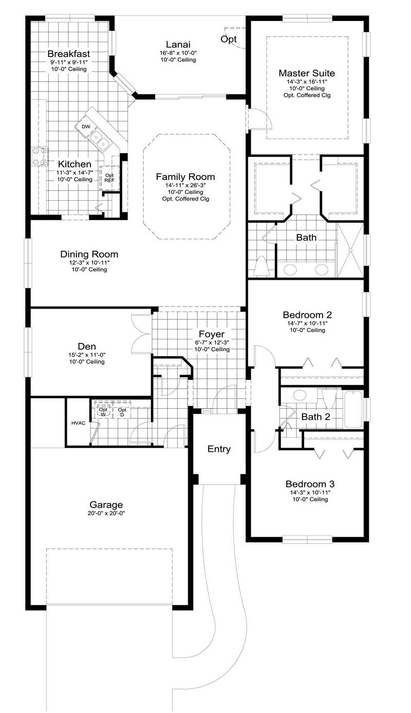 Windsong Home Plan by Neal Communities in Estero Place
