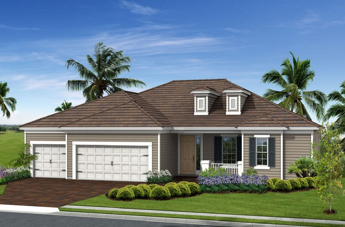 Hatteras home plan by neal communities in oaks of estero for Hatteras homes