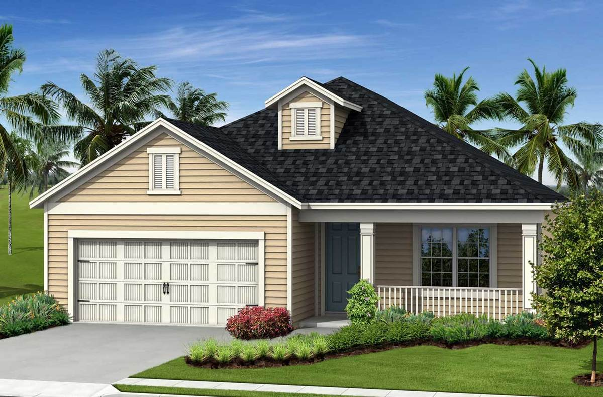 Fresh Spring Home Plan By Neal Communities In River S Reach