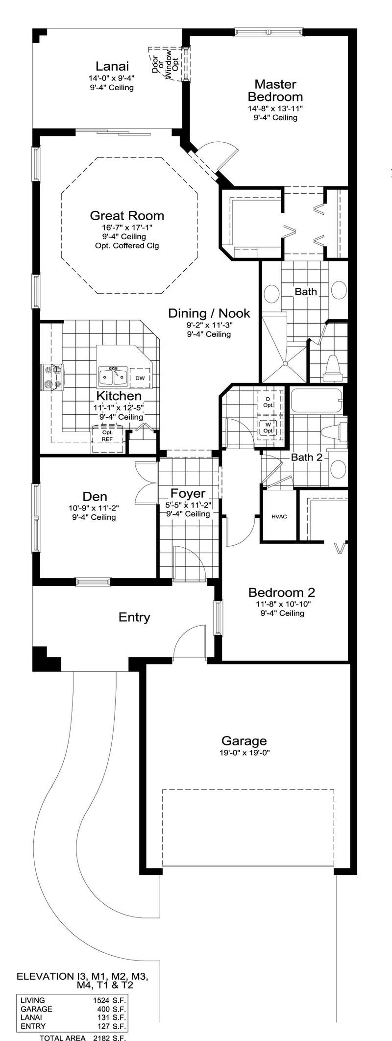 Tidewater House Plans Of Tidewater B Home Plan By Neal Communities In Milano