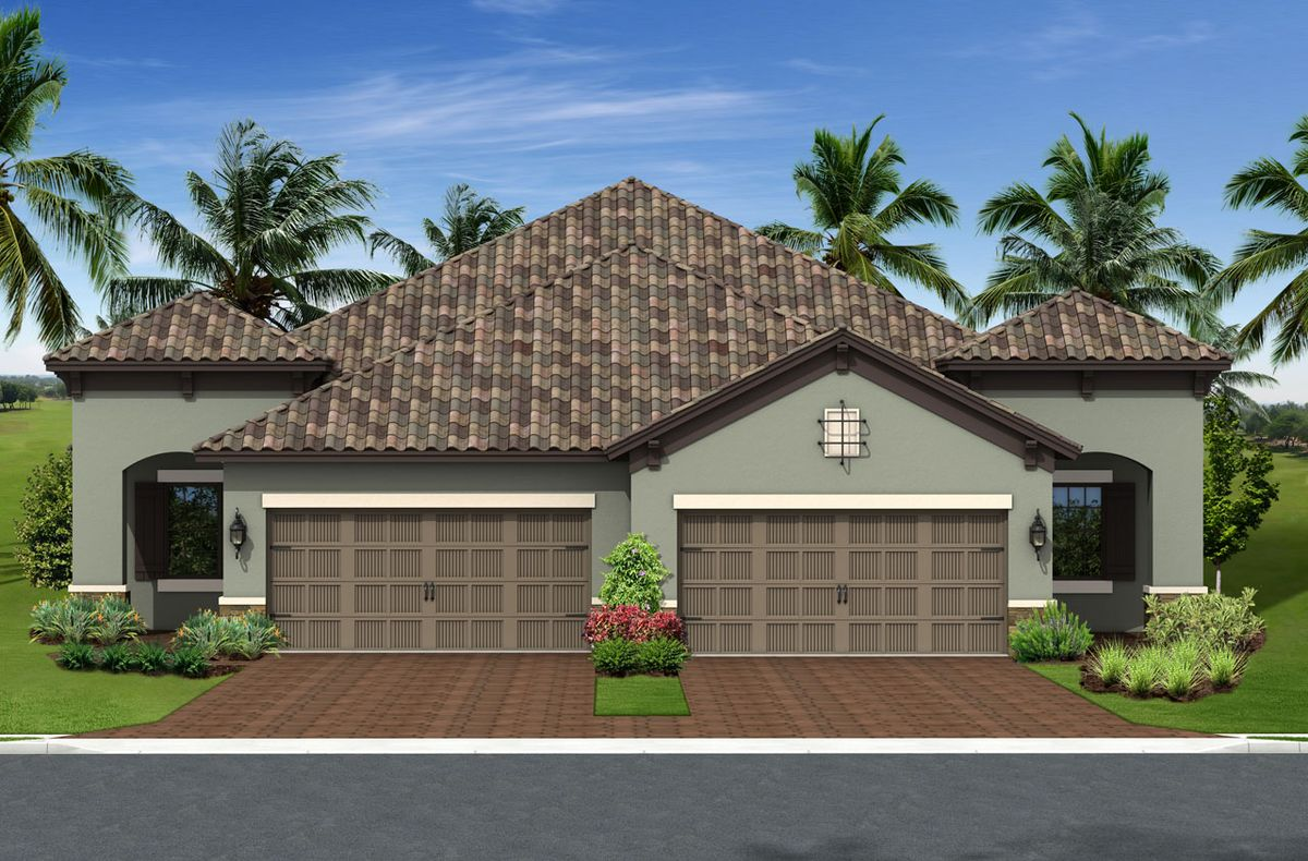 Crystal Sand Home Plan By Neal Communities In Villa Amalfi