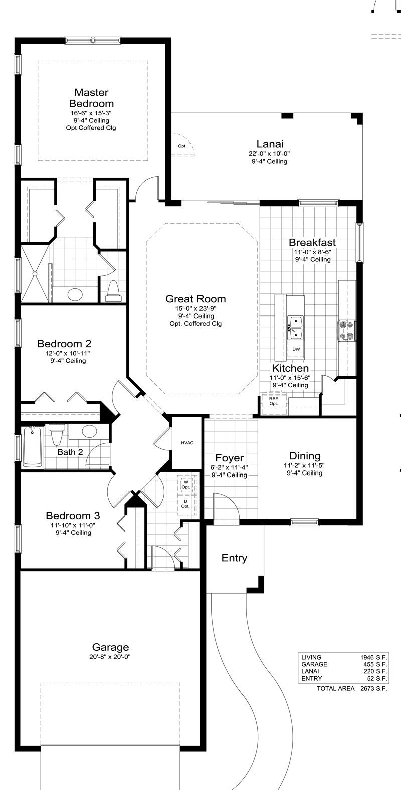 White sand 2 home plan by neal communities in silverleaf for Ron lee homes floor plans