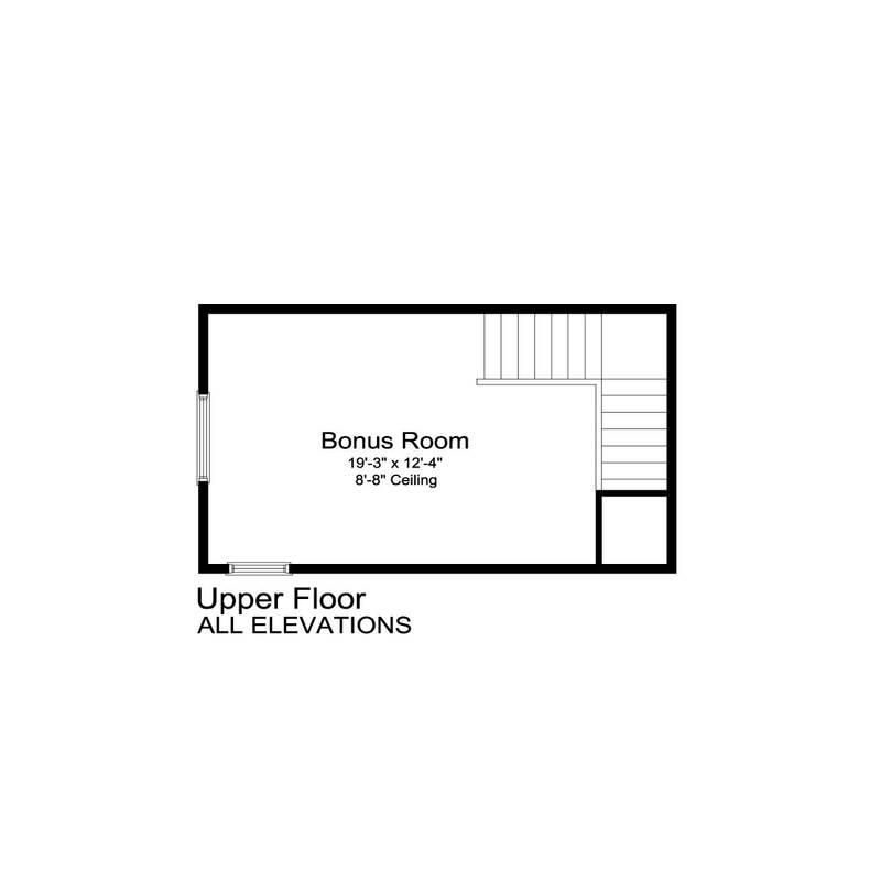 Second Floor Bonus Room
