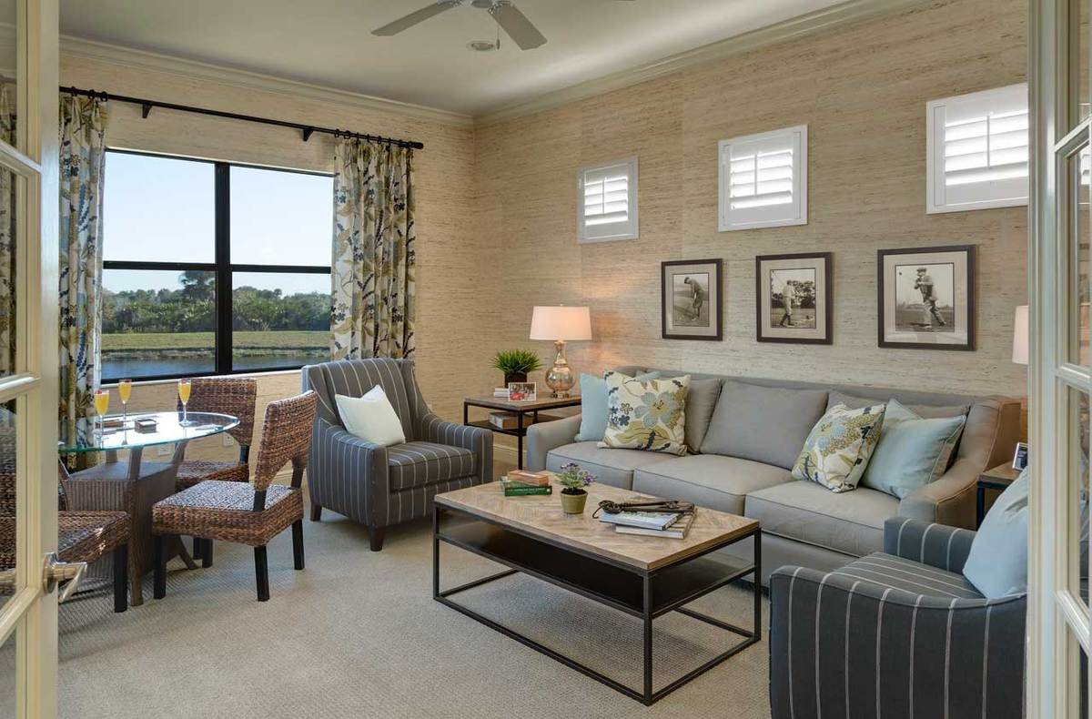 Sanibel Home Plan By Neal Communities In Grand Palm