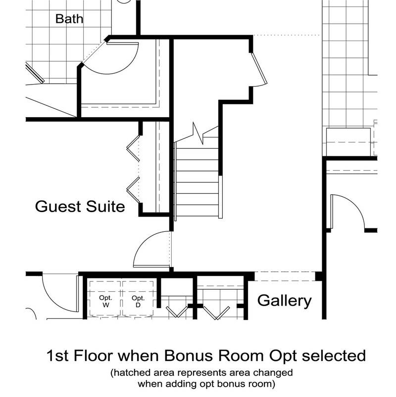 Stairs to Optional Bonus Room