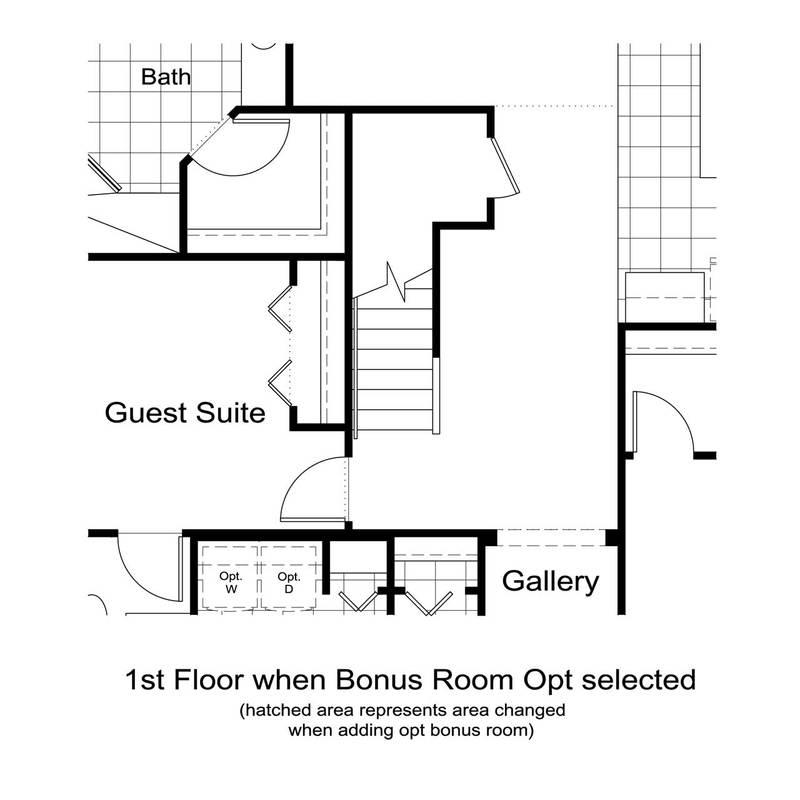 Stairs to Optional Bonus Room