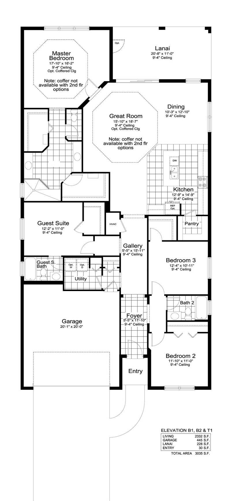 First Floor (Bonus Room Optional)