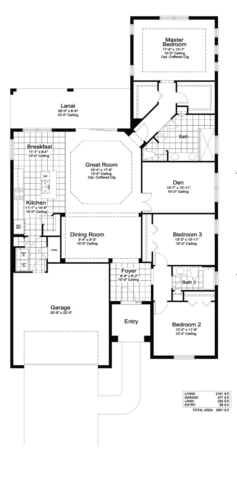 Endless Summer 3 Home Plan By Neal Communities In Boca