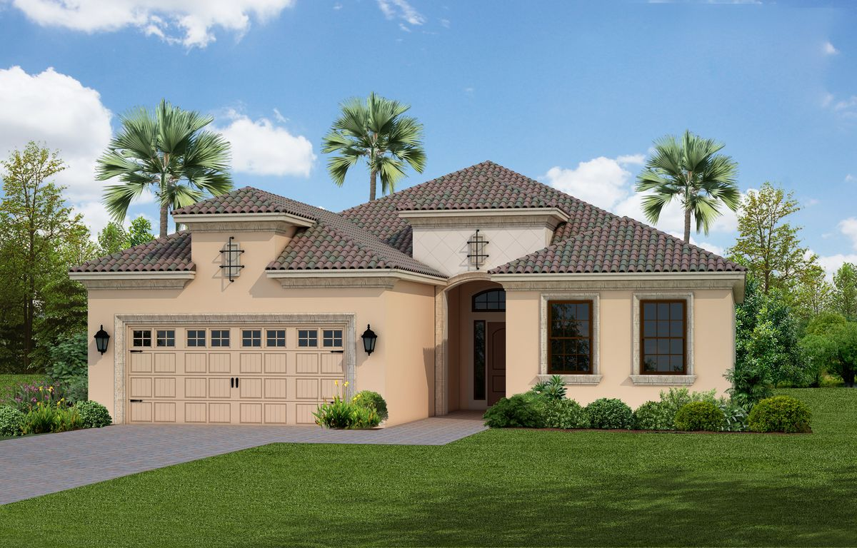Windsong Home Plan By Neal Communities In Boca Royale Golf