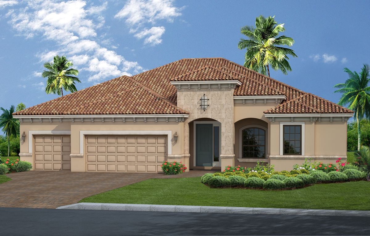 Hatteras home plan by neal communities in boca royale golf for Hatteras homes