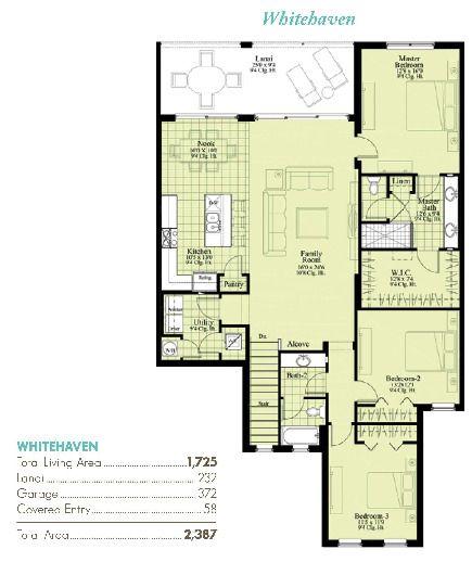 Whitehaven home plan by neal communities in avalon for Avalon floor plan