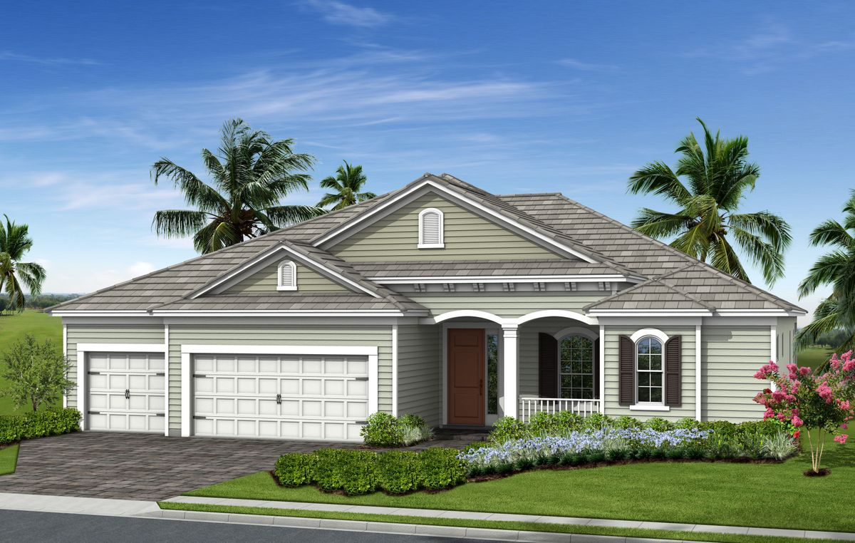 Hatteras Home Plan By Neal Communities In Grand Palm