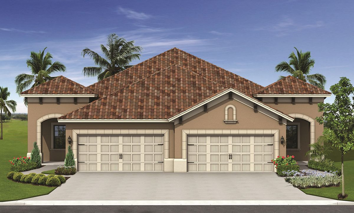 Tidewater b home plan by neal communities in grand palm for Tidewater homes