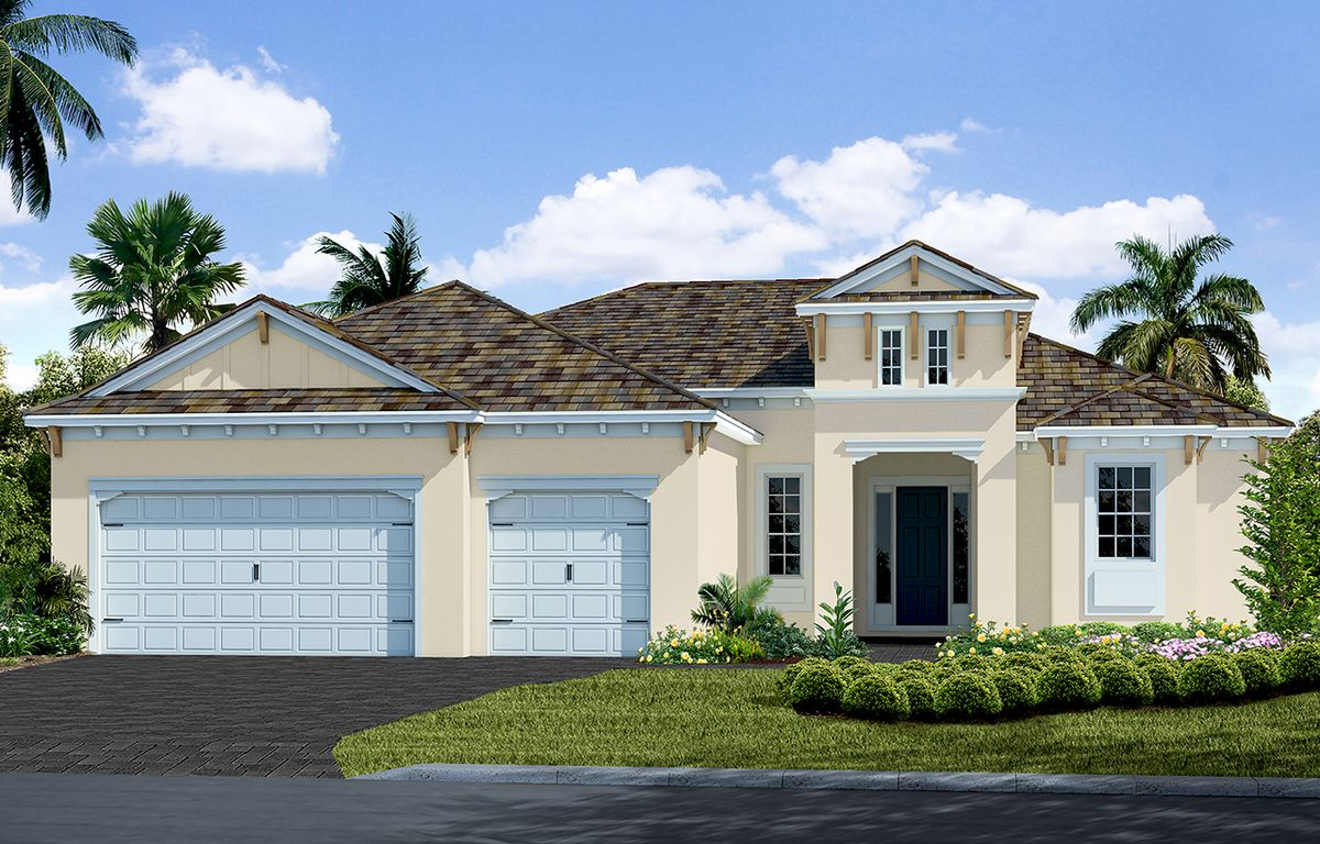 Captiva Home Plan By Neal Communities In Boca Royale Golf