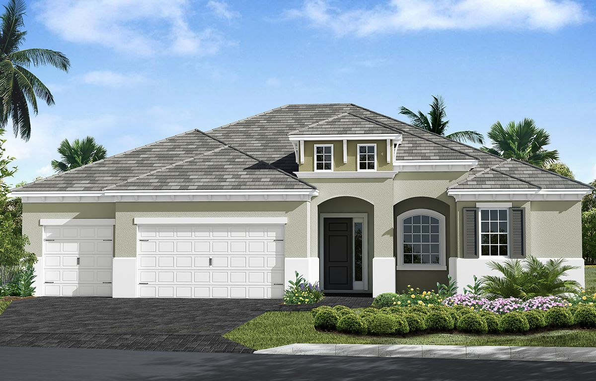 Hatteras Home Plan By Neal Communities In Boca Royale Golf