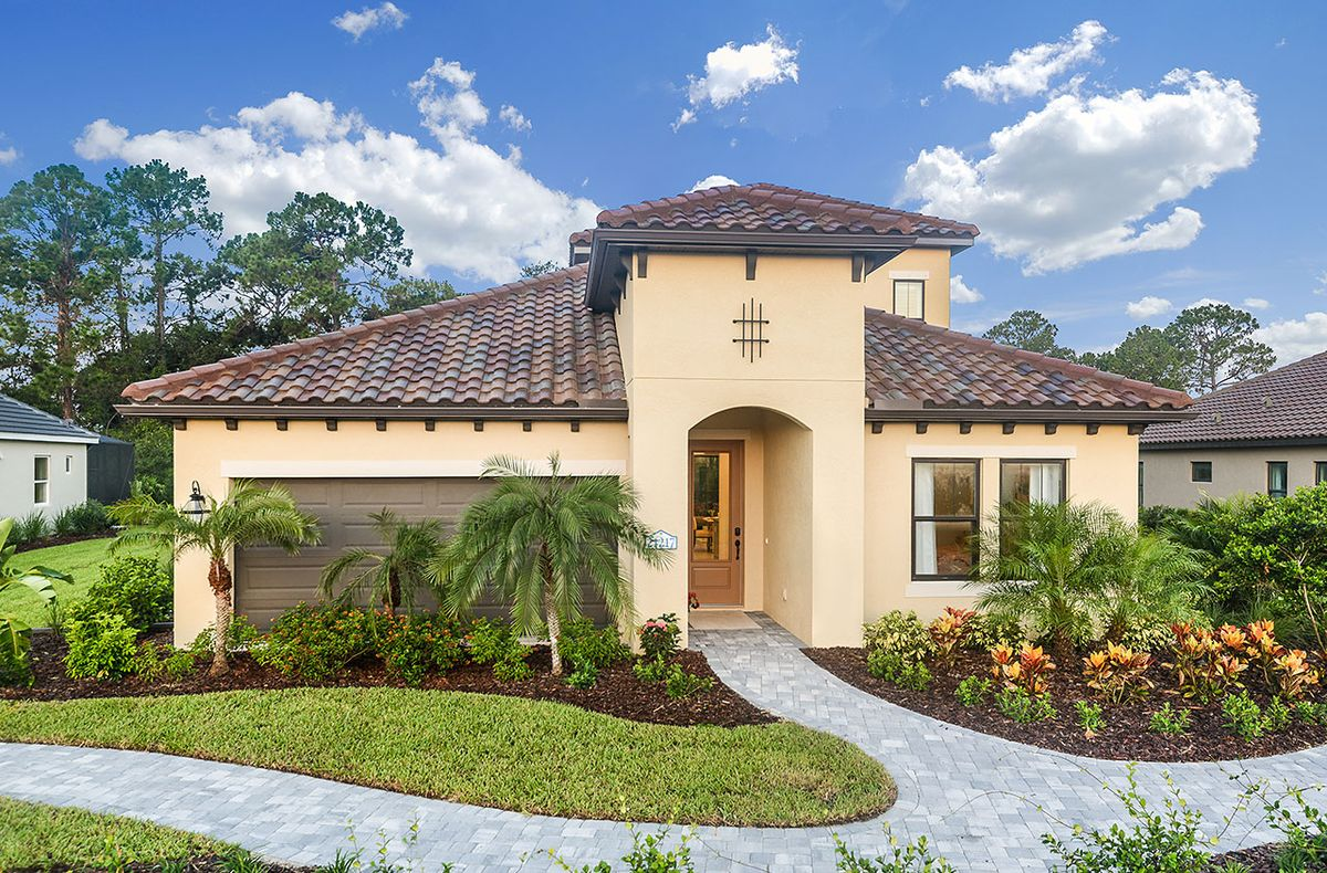 Laurel home plan by neal communities in grand palm for Laurel home