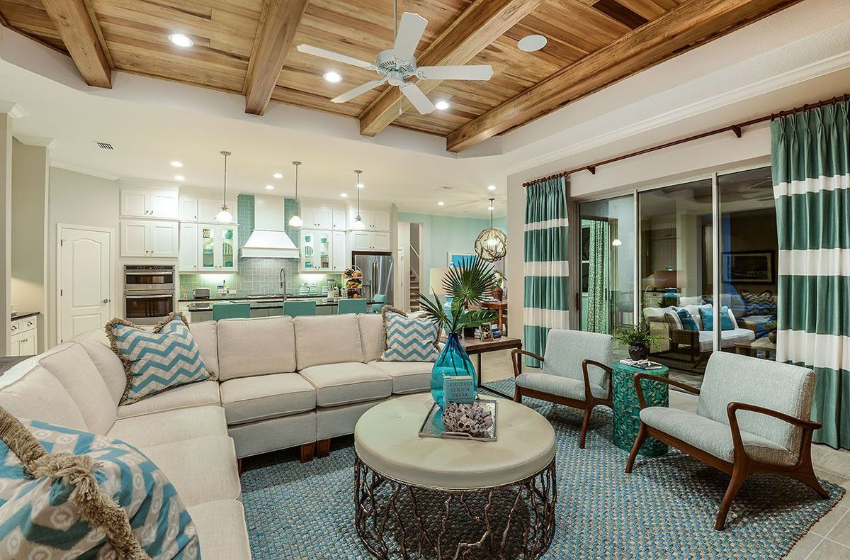 Kiawah Home Plan By Neal Communities In Grand Palm