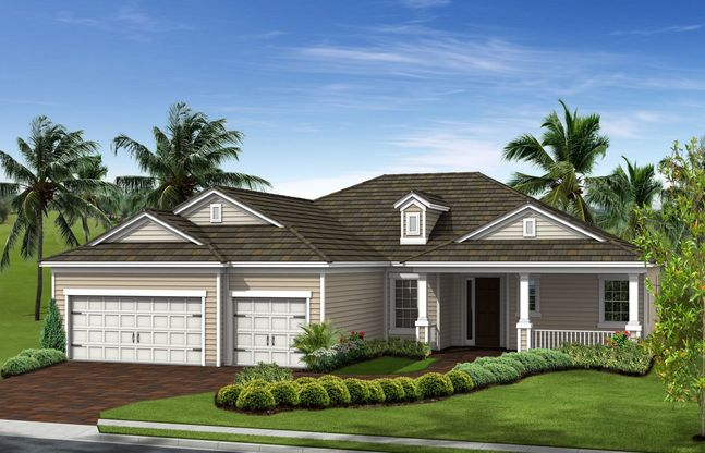 Sanibel Plan At Grand Palm In Venice Fl By Neal Communities