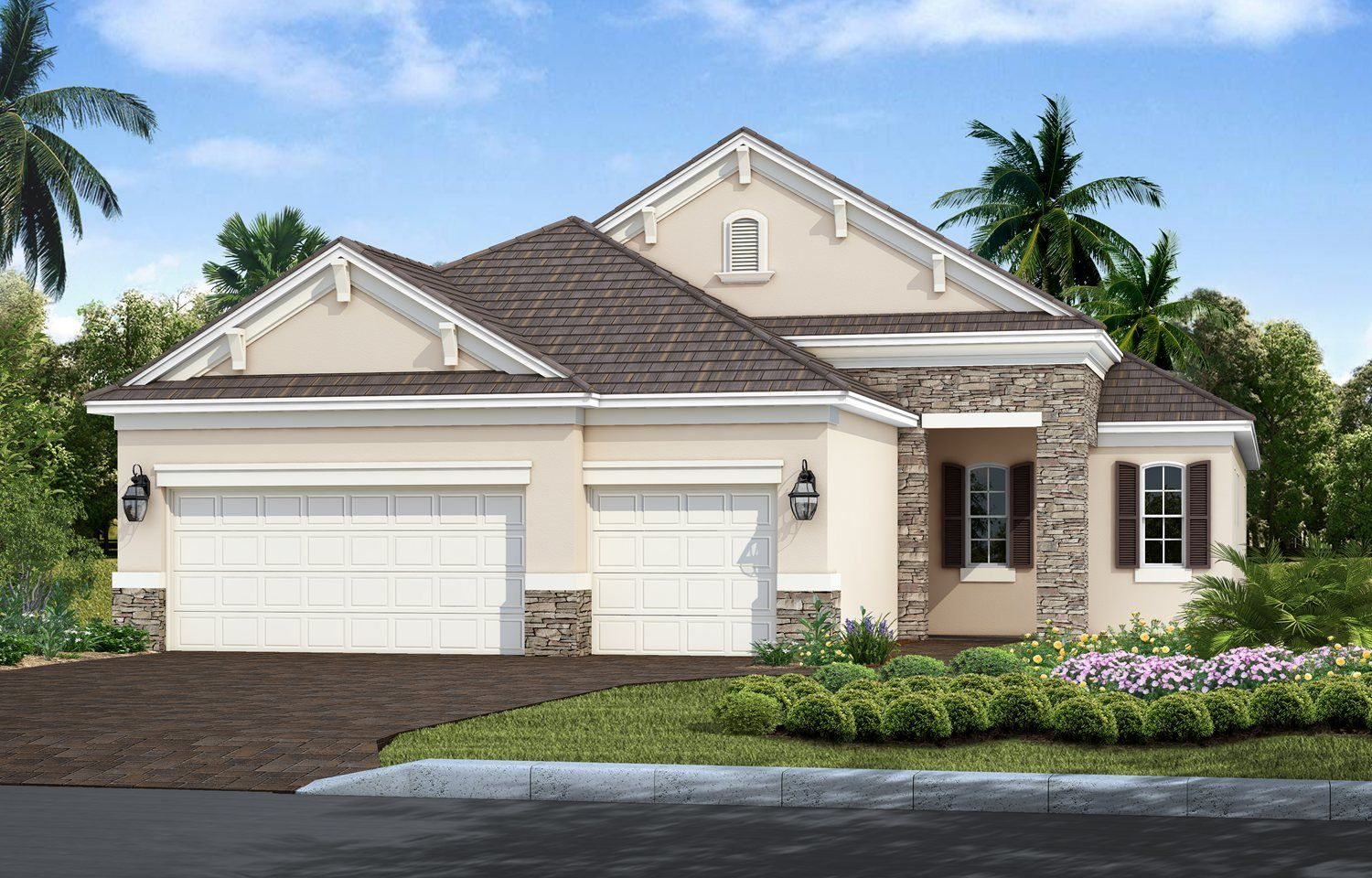Exterior featured in the Sea Star By Neal Communities in Sarasota-Bradenton, FL