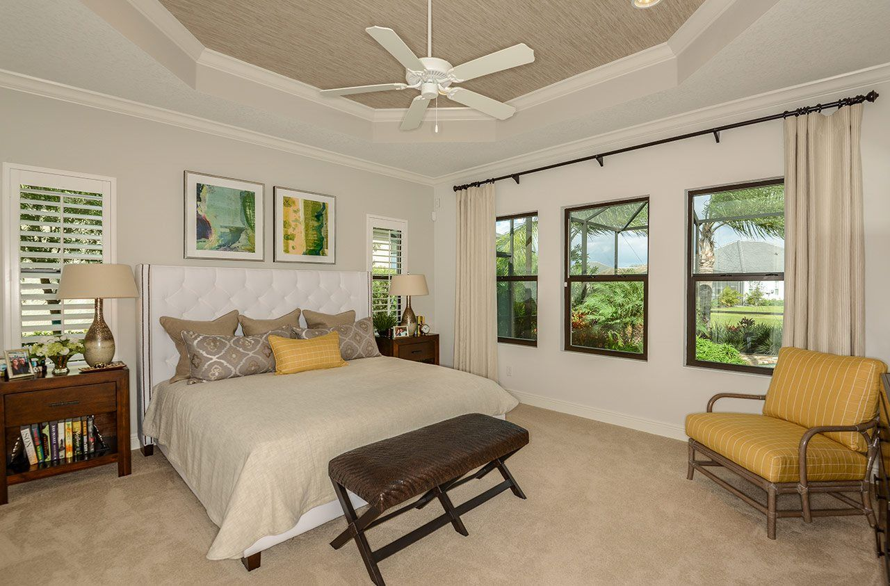 Bedroom featured in the Wind Star By Neal Communities in Sarasota-Bradenton, FL