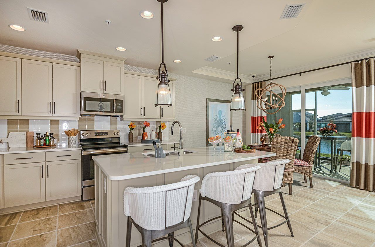 Kitchen featured in the Kendal By Neal Communities in Naples, FL