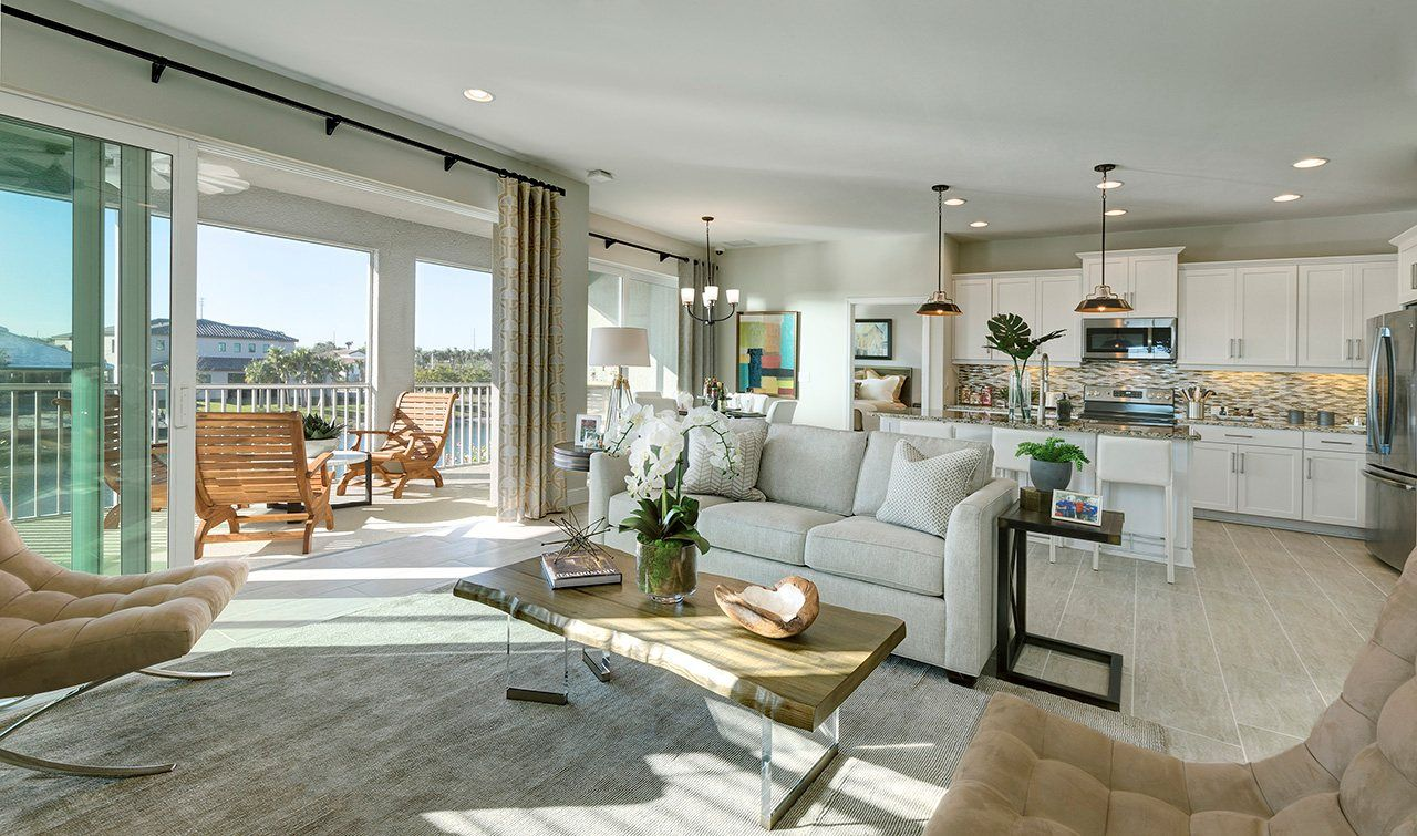 Living Area featured in the Windemere By Neal Communities in Naples, FL