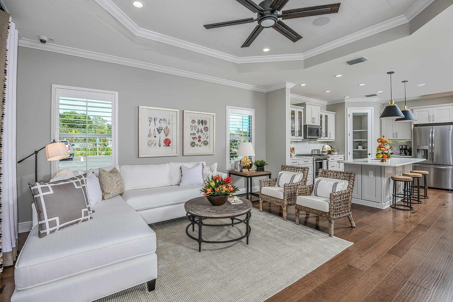 Living Area featured in the Tidewinds By Neal Communities in Fort Myers, FL