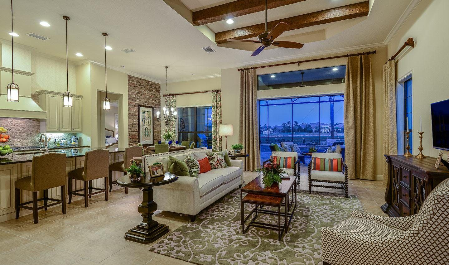 Living Area featured in the Montecito By Neal Signature Homes in Sarasota-Bradenton, FL