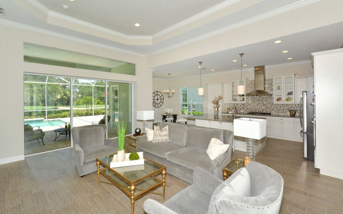 Living Area featured in the Entrare By Neal Signature Homes in Sarasota-Bradenton, FL