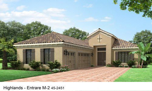 Exterior featured in the Entrare By Neal Signature Homes in Sarasota-Bradenton, FL