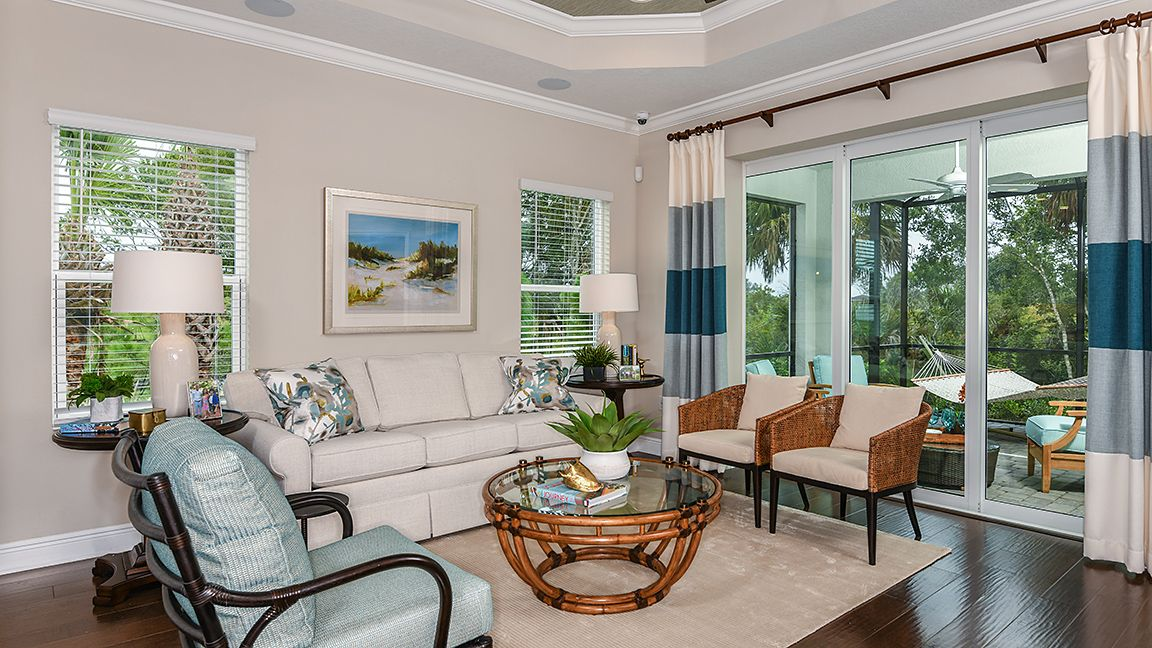 Living Area featured in the Crystal Sand By Neal Communities in Sarasota-Bradenton, FL
