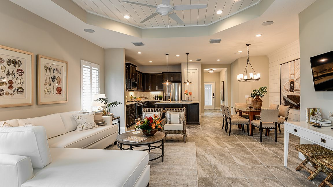 Living Area featured in the Tidewater By Neal Communities in Sarasota-Bradenton, FL