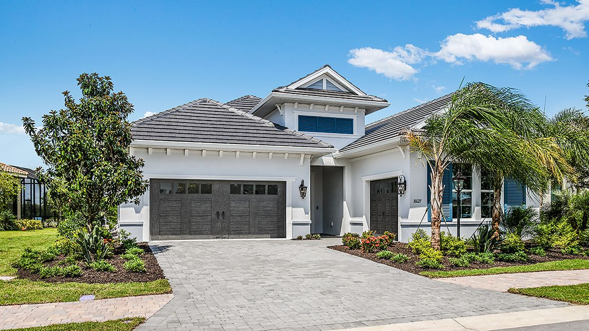 Exterior featured in the Carlotta By Neal Signature Homes in Sarasota-Bradenton, FL