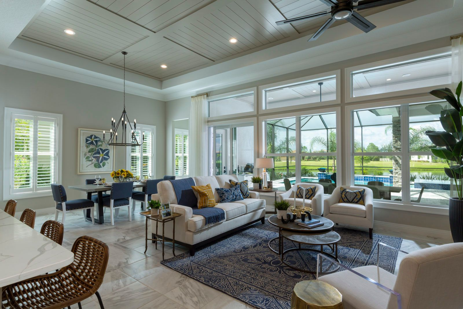Living Area featured in the Carlotta By Neal Signature Homes in Sarasota-Bradenton, FL