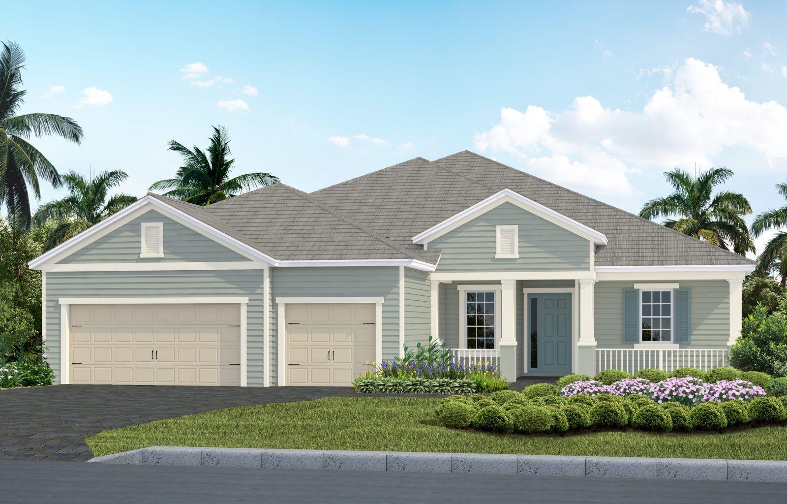 Exterior featured in the Savannah 2 By Neal Communities in Sarasota-Bradenton, FL