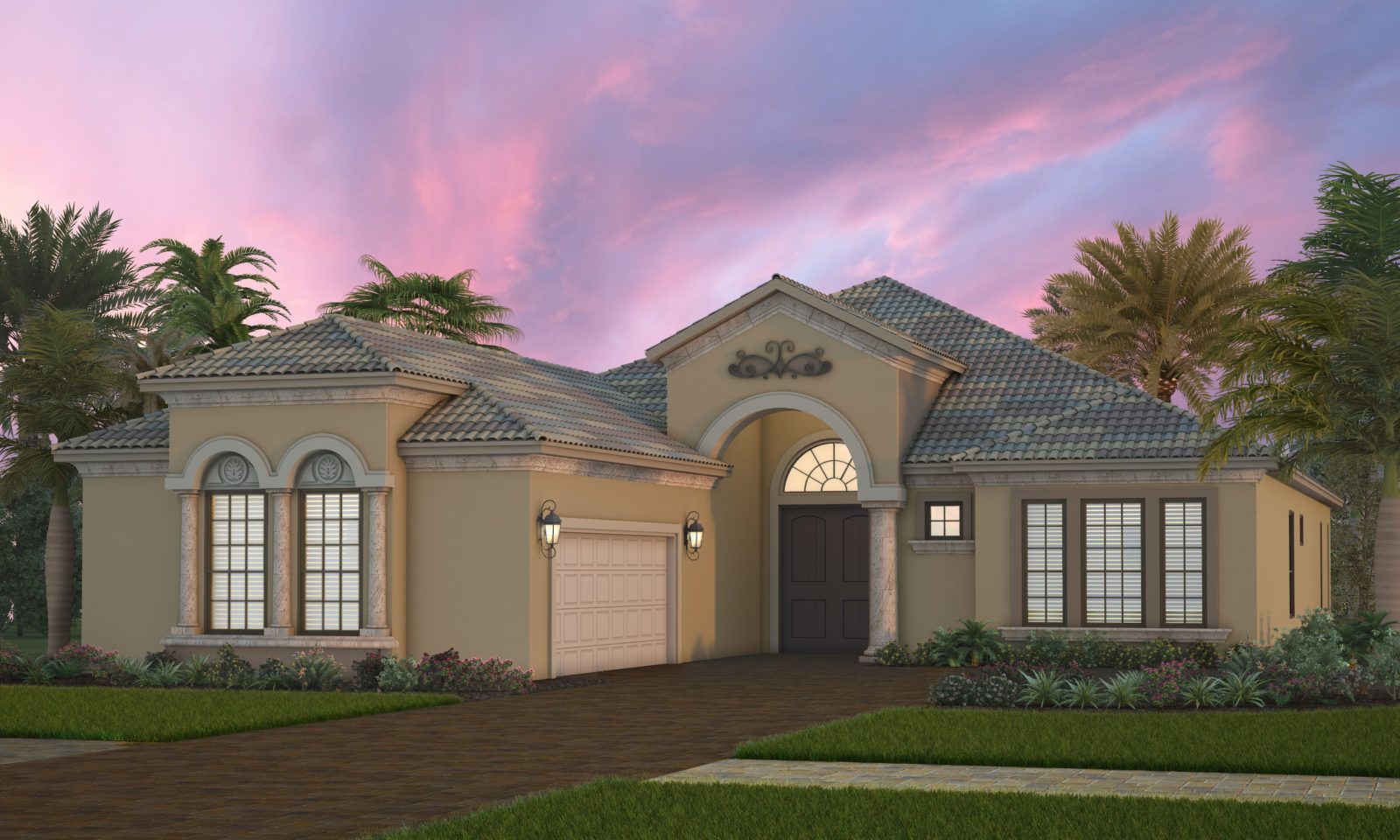 Exterior featured in the Palmavera 2 By Neal Signature Homes in Sarasota-Bradenton, FL