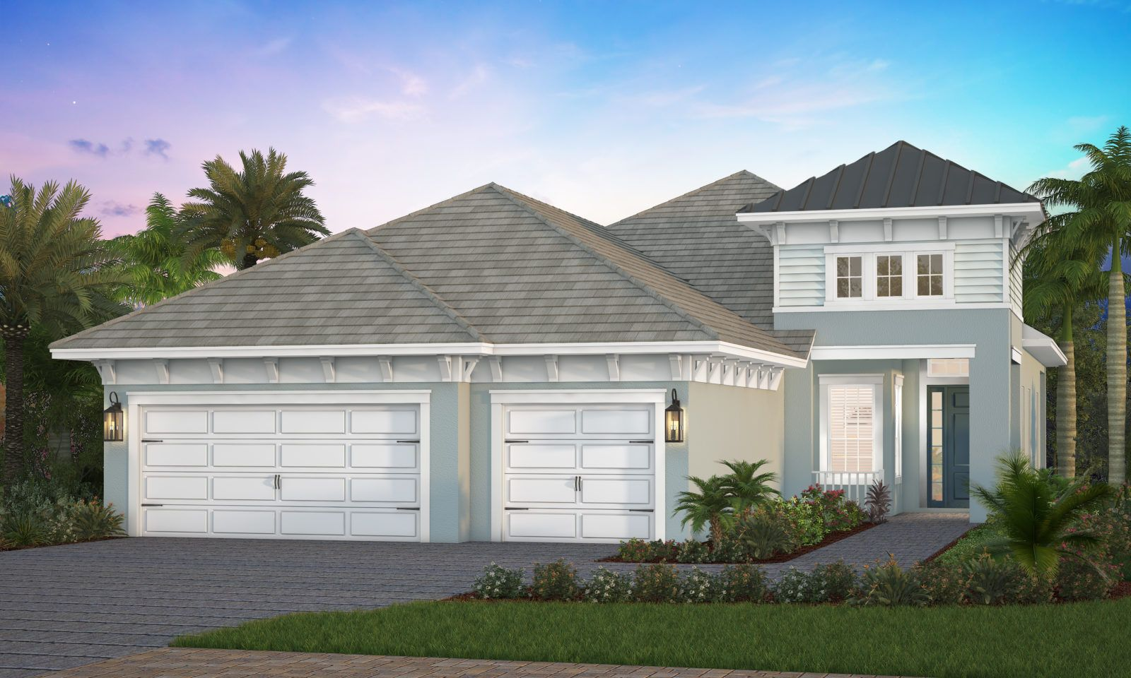 Exterior featured in the Montecito By Neal Signature Homes in Sarasota-Bradenton, FL
