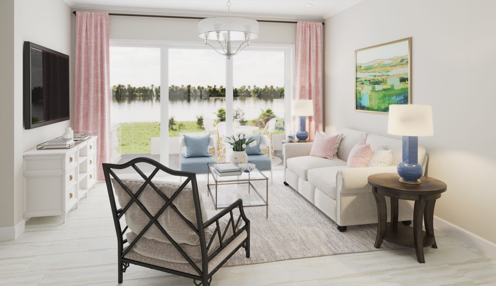 Living Area featured in the Augusta By Neal Communities in Punta Gorda, FL