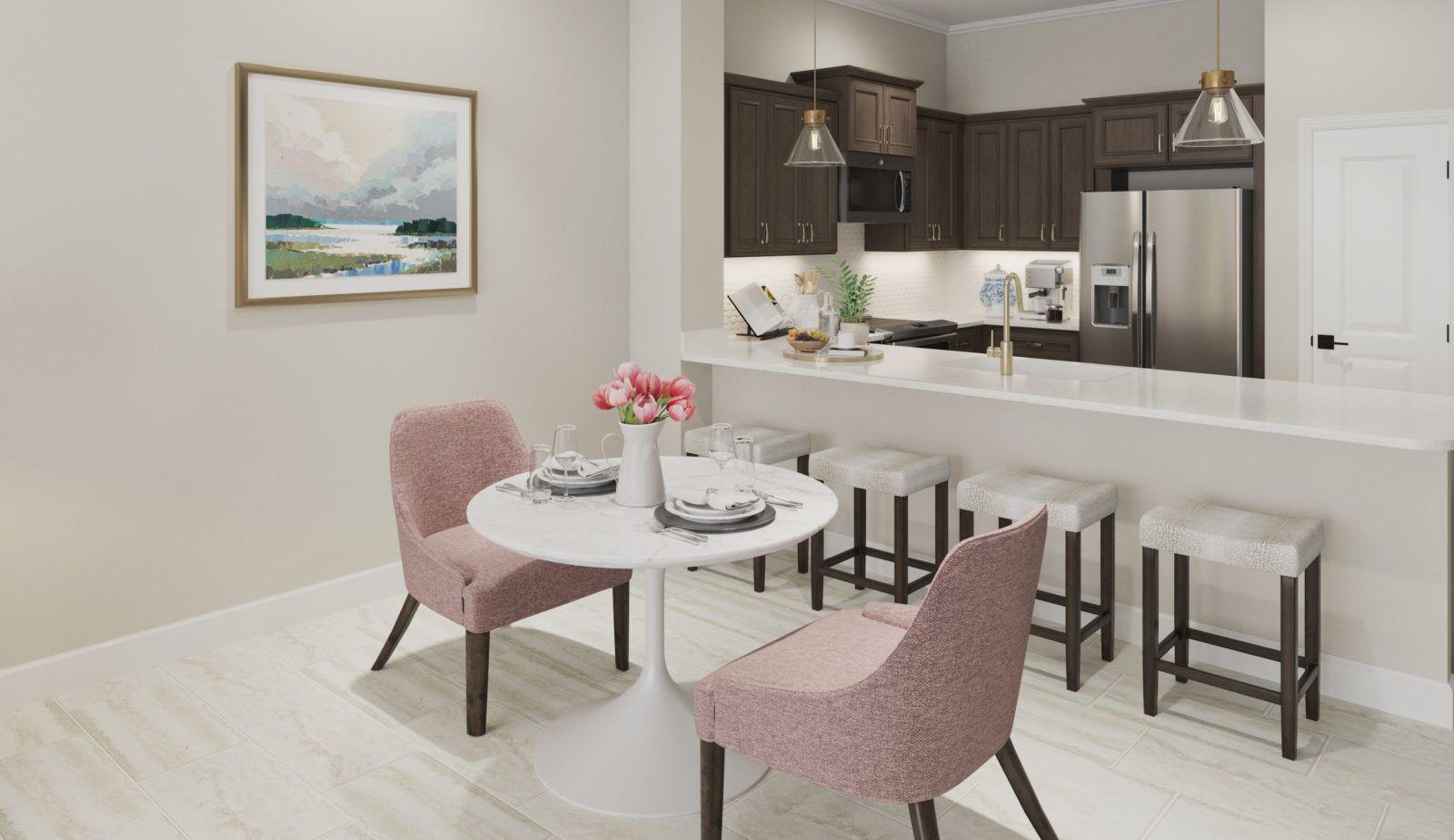 Kitchen featured in the Augusta By Neal Communities in Punta Gorda, FL