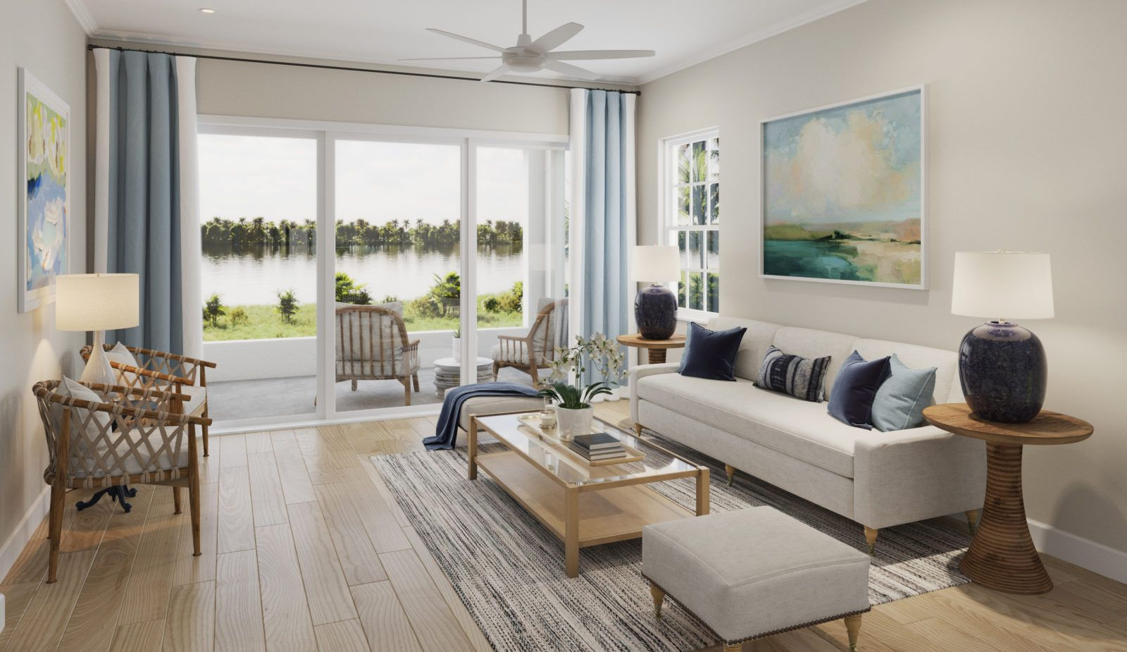 Living Area featured in the Venetian By Neal Communities in Punta Gorda, FL