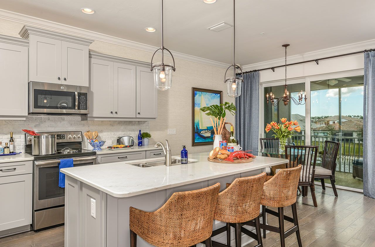 Kitchen featured in the Whitehaven By Neal Communities in Naples, FL