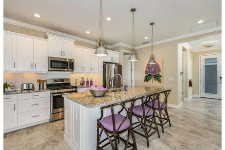 Kitchen-in-Sandcastle-at-Marquesa Isles-in-Naples