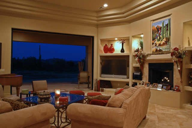 Living Area featured in the Shover By Neidhart Enterprises, Inc. in Phoenix-Mesa, AZ